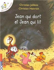 Jean qui dort et Jean qui lit